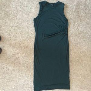 Banana Republic Green Sleeveless Dress Size Large